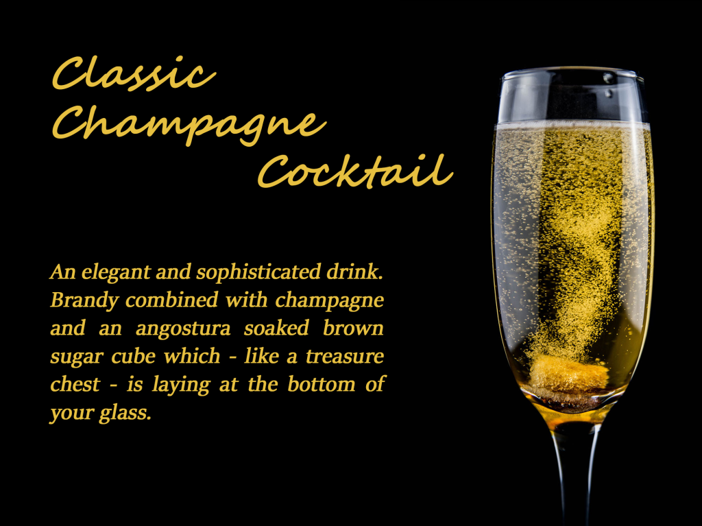 FINAL classic champagne cocktail