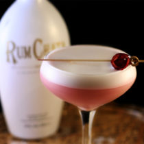 shake&stir cocktail rum chata