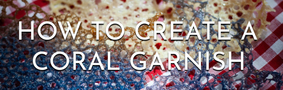 How to Create Coral Garnish For Cocktails